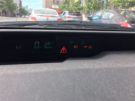prius vsc light check engine hybrid battery replacement second opinion triangle