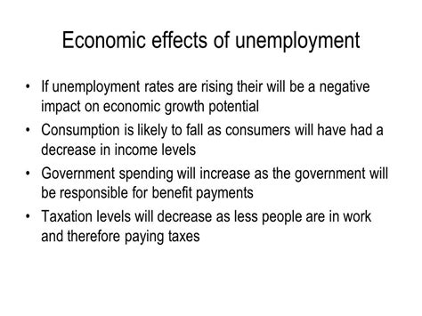 unemployment effect on gdp inflation and unemployment ppt video online download