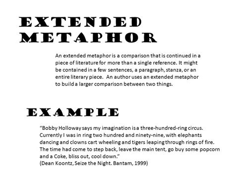 exle of extended metaphor museum indians by susan power ppt