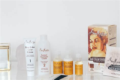 shea moisture color system sheamoisture hair color system review dolce vanity