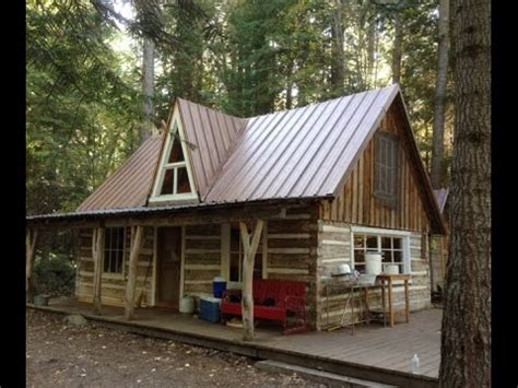 cabin building log cabin building cabin tour