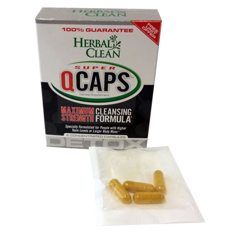 Detoxing From E Cigarettes by Detox Caps Herbal Clean Qcaps 4pk Buy Herbs