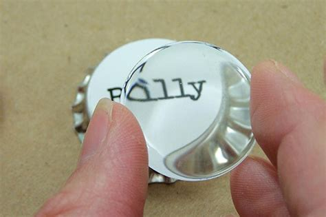 how to make bottle cap jewelry personalized bottle cap necklace hgtv