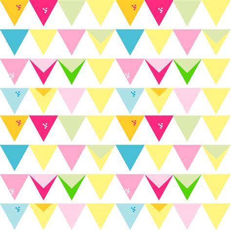free digital bunting scrapbooking paper ausdruckbares