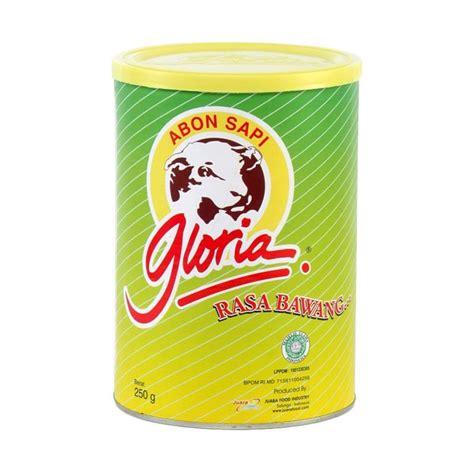 Abon Sapi Gloria 250 Grm by Jual Gloria Abon Sapi Bawang Makanan Kering 250 G