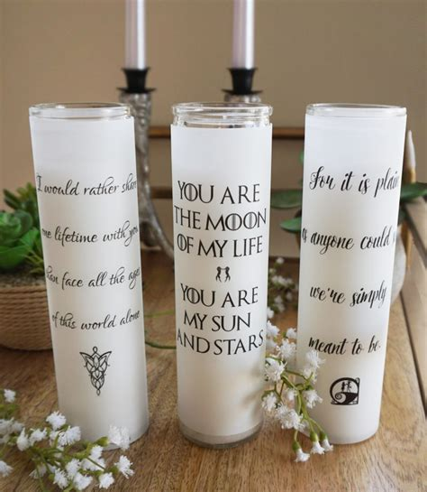 wedding candles diy these geeky wedding candles for centerpieces