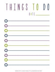 free to do list printable beautiful designs