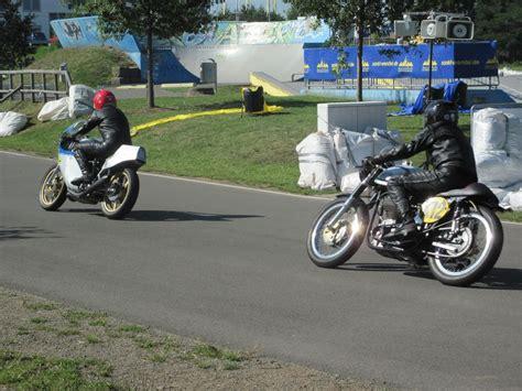 Motorrad Classic 2 2010 by St Wendel 2010 Suzuki 2 Takt Gegen Norton 4 Takt