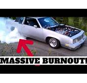 454 CHEVY BURNOUT  1985 Olds Cutlass Supreme Screams In