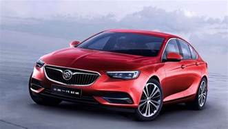 buick regal sedan 2018 buick regal sedan debuts in china gm authority