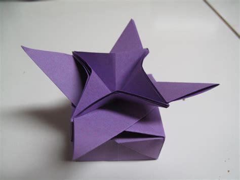 Flower Box Origami - origami flower box bahamasblogg