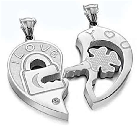 cadenas para novios cadenas dije corazon compartir amor novios pareja