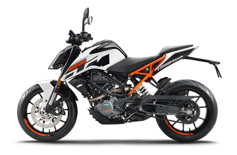 Motorrad Online 125 Test by Ktm 125 Duke White Teasdale Motorcycles