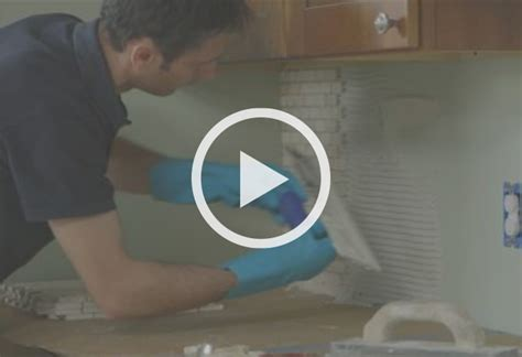 how to apply backsplash in kitchen how to install a kitchen backsplash at the home depot