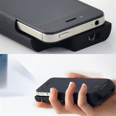iphone projector held iphone projector by mohzy mini projector mblng