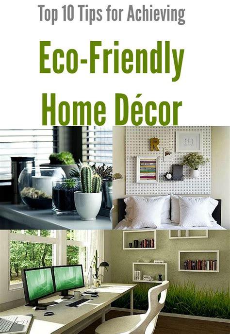 top  tips  achieving eco friendly home decor eco