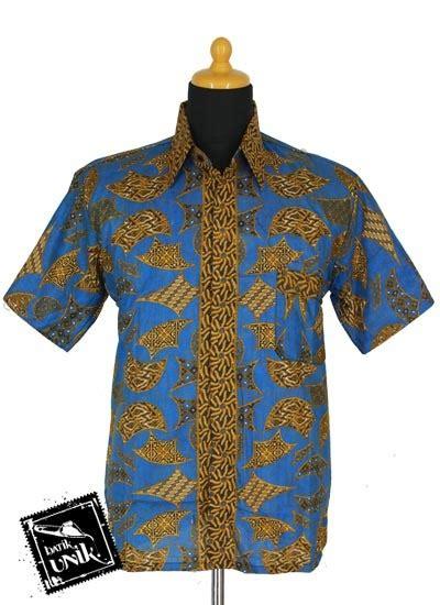Kemeja Batik Pekalongan Fmc 367 baju batik sarimbit blus motif parang benji tumpal