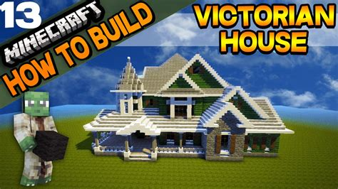 how to build a victorian house minecraft victorian house how to build e13 youtube