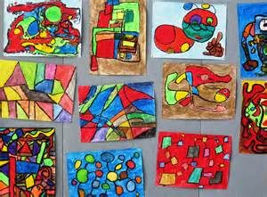 paint world on cool math abstract in grade three alejandra chavez