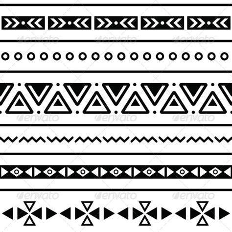 changing pattern of tribal livelihoods aztec seamless pattern tribal black and white aztec