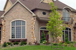 Home Exterior Design Brick by Exterior Stone Brick Trim Colors