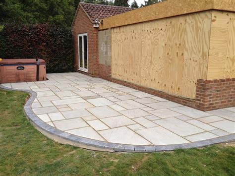 patio edging s j callan renovations 100 feedback driveway paver landscape gardener fencer in yateley