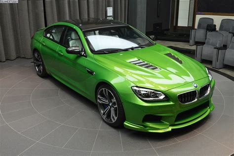 custom bmw m6 bmw m6 gran coupe in java green