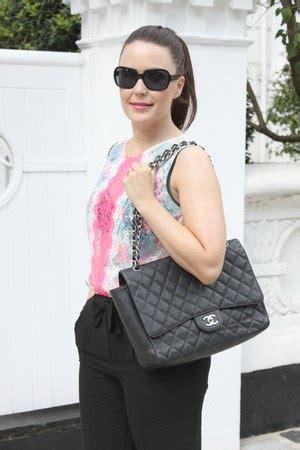 Blouse Jumbo 30 black jumbo 255 chanel bags pink lace neon top sandro tops quot chanel jumbo 2 55 quot by