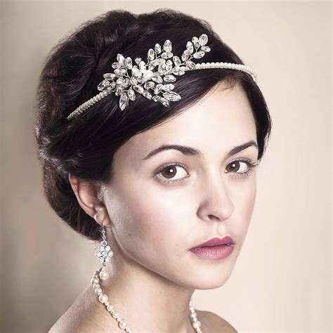 Handmade Wedding Headpieces - handmade estelle wedding headpiece by rosie willett