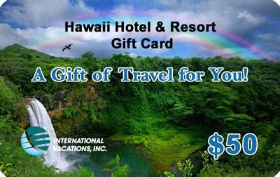 Hawaii Gift Cards - hawaii hotel resort gift card 50 travelgiftcardsetc com