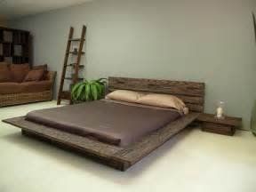 Frame For Bed On The Floor Delta Low Profile Platform Bed