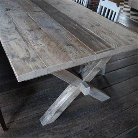 steigerhout salontafel antwerpen prachtige boeren klooster tafel in gebruikt steigerhout
