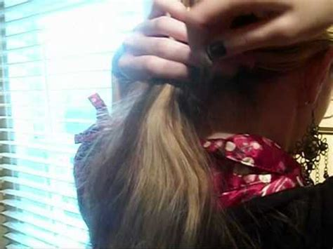 how to make drawstring ponytail from scratch hump and drawstring ponytail tutorial how to save