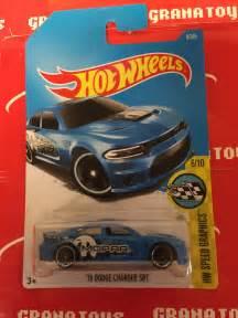 15 Dodge Charger SRT #9 Blue 2017 Hot Wheels Case A   eBay
