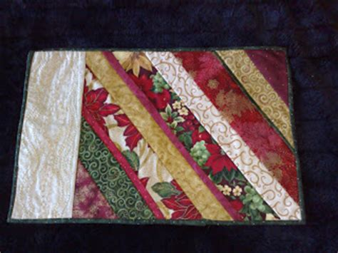 Quilt As You Go Placemats by The Quilt Witch Quilt As You Go Placemat