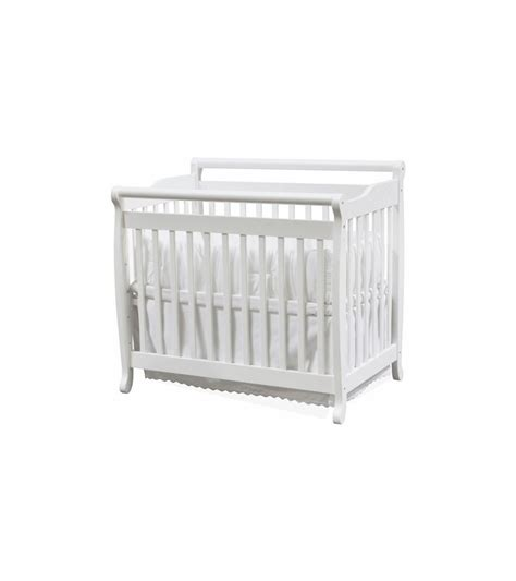 Emily Mini Crib Mattress Davinci Emily Mini 2 In 1 Convertible Crib In White