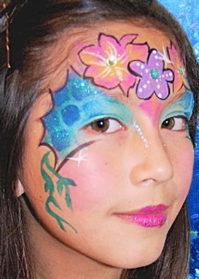 mermaid face paint design video tutorial face paint shop