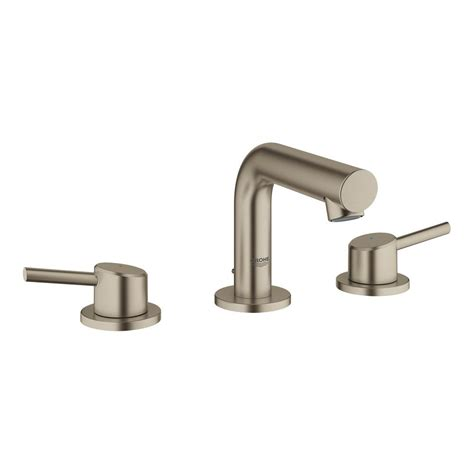 grohe concetto 8 in widespread 2 handle mid arc bathroom
