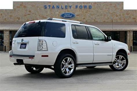 purchase used 2010 mercury mountaineer premier awd navigation rear dvd heated seats sync black buy used 2010 mercury mountaineer rwd 4dr premier in pilot point texas united states for us