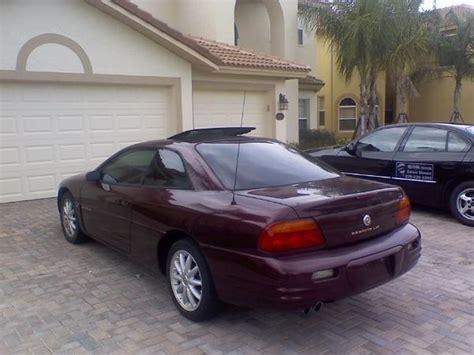 1997 chrysler sebring coupe 1997 chrysler sebring lxi coupe review