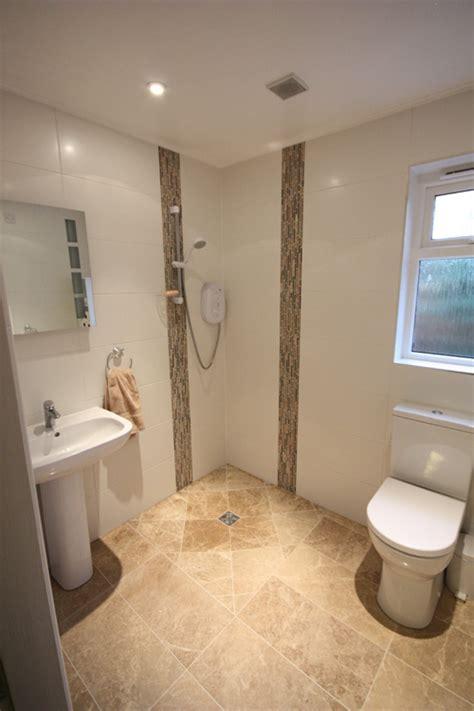 bathroom  wetroom design gallery white rose tiling