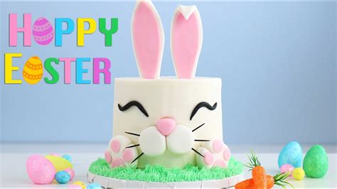 Easter Just Got Trendy by The Trendy Easter Bunny Cake