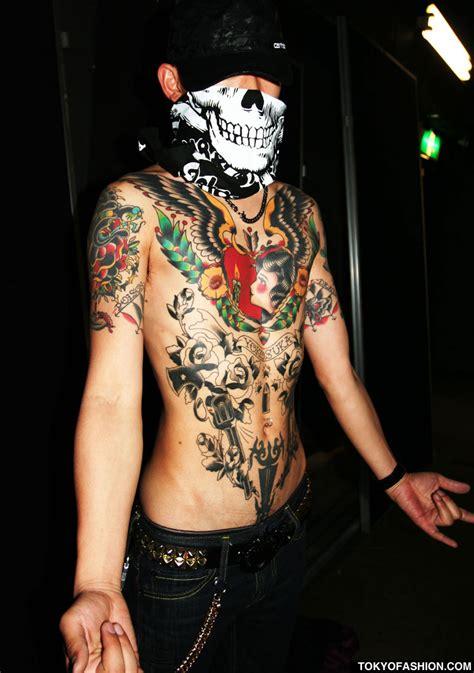 tattoo yakuza trendy tokyo tattoo shops