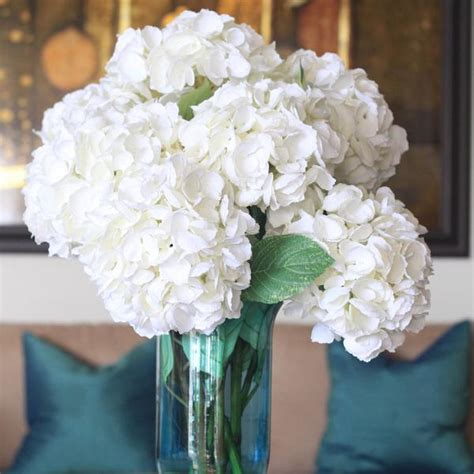 ana silk flowers pictures silk flowers white luxury artificial white hydrangea amaranthine blooms