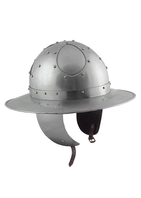 Helm Helmet kettle hat with cheek guards size s battle ready battle merchant we supply history