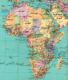 Map Africa by Africa Other Maps