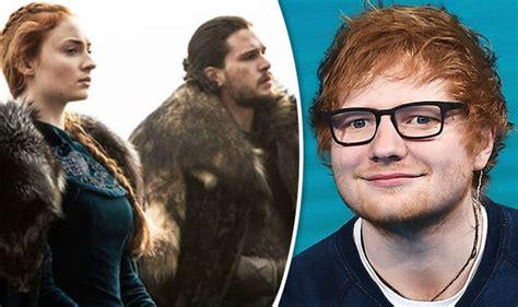 ed sheeran game of throne game of thrones season 7 ed sheeran will make guest