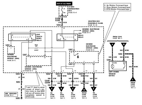power window wiring diagram for 2000 f350 get free image