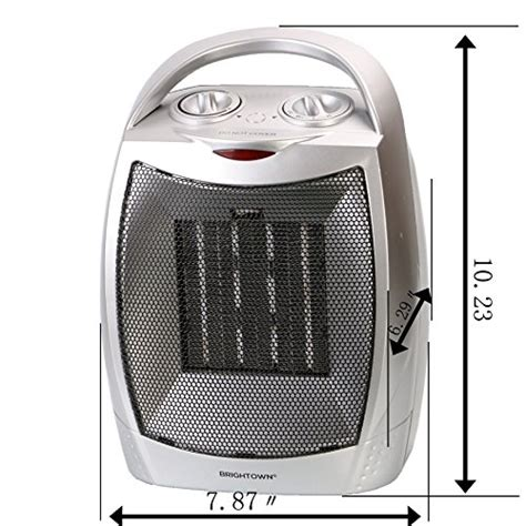 best ceramic fan heater 750w 1500w etl listed quiet ceramic space heater with