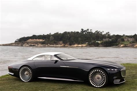 luxury mercedes maybach vision mercedes maybach 6 cabriolet future of luxury cars
